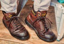 czyszczenie butów