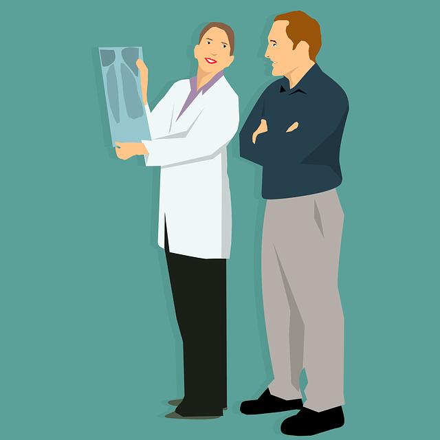 lekarz i pacjent